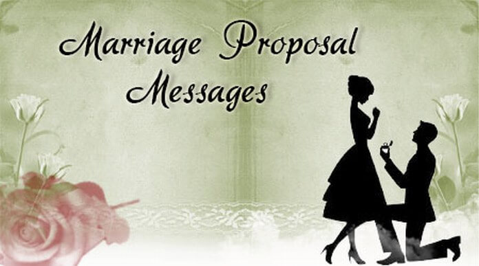 Marriage Proposal Text Messages