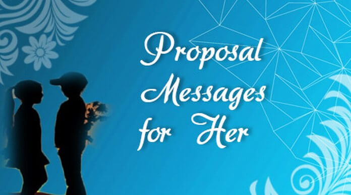 Proposal Messages for Her