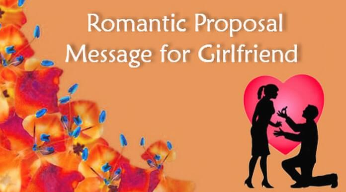 Romantic Proposal GirlfriendMessage