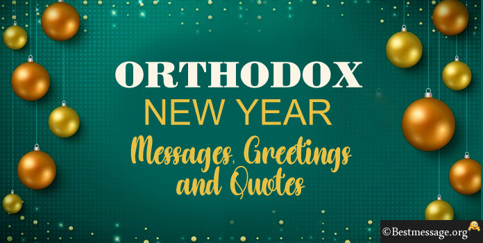 Orthodox New Year Messages