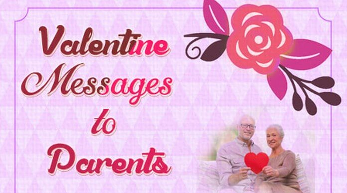 Valentine's Day Messages to Parents