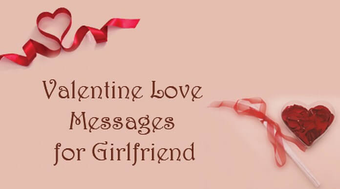 Valentine Love text Messages for Girlfriend