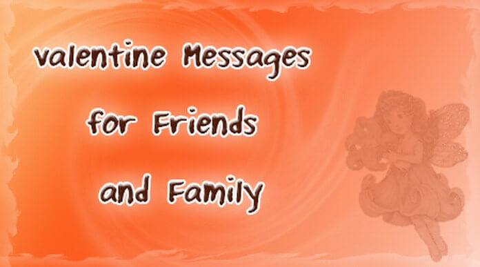 valentine messages for friends and family | sample valentine messages, Ideas