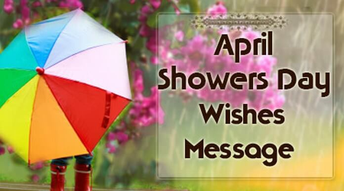 April Showers Day Wishes