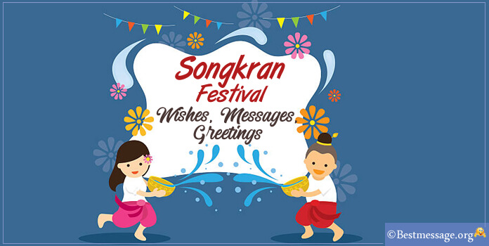 Songkran Festival Messages Wishes