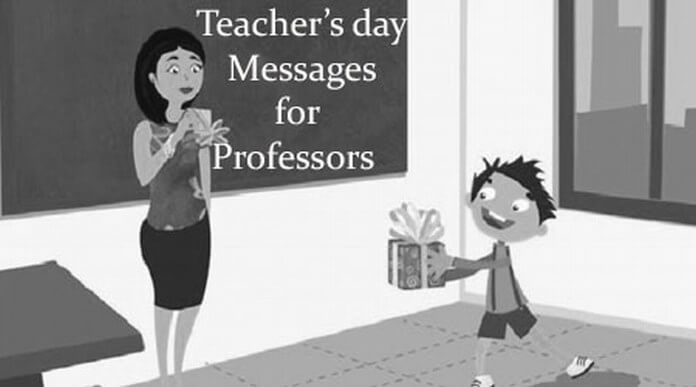 Teacher's day Messages for Professors