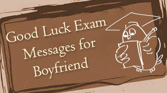 Boyfriend Good Luck Exam Messages