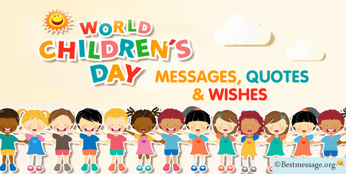 International Children day message