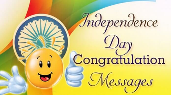 Independence Day Congratulation Messages