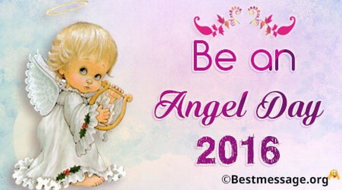 Be an Angel Day Quotes 2016