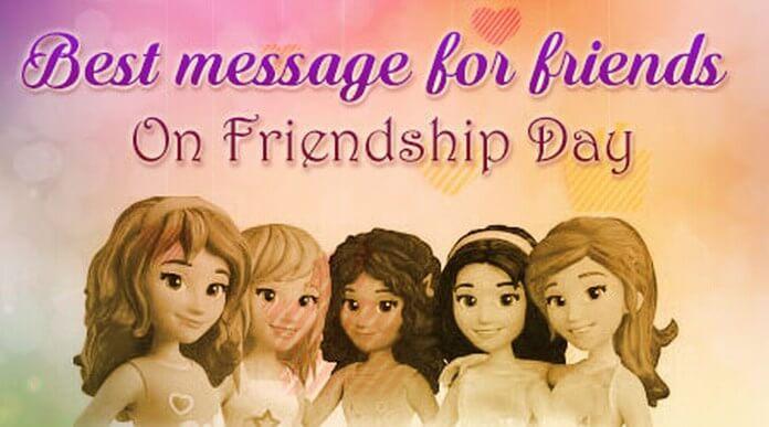 friendship day message for best friend