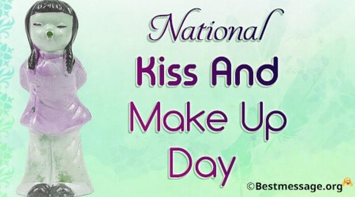 National Kiss And Make Up Day 2016