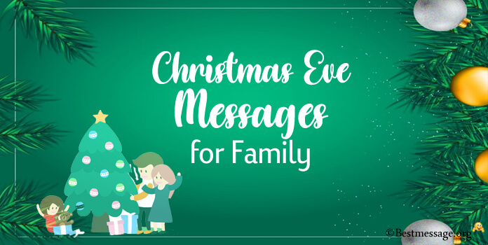 Christmas Eve Messages for Family