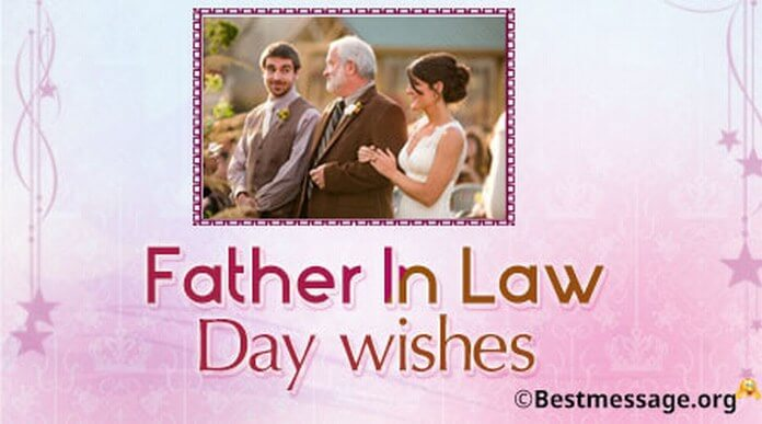 Father In Law Day wishes