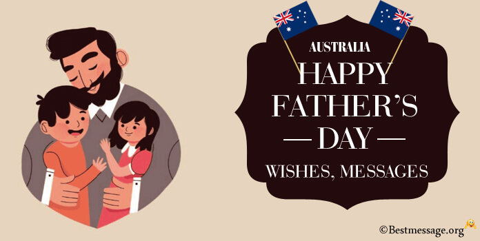 What's the date of father's day in Australia