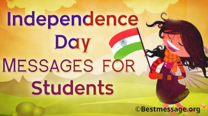 Independence Day Messages for Students