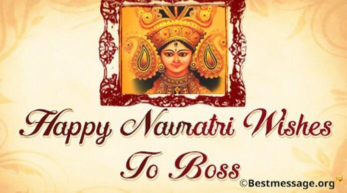 Navaratri Best Wishes boss