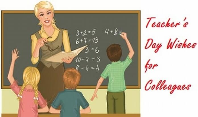 Teacher's Day Wishes for Colleagues