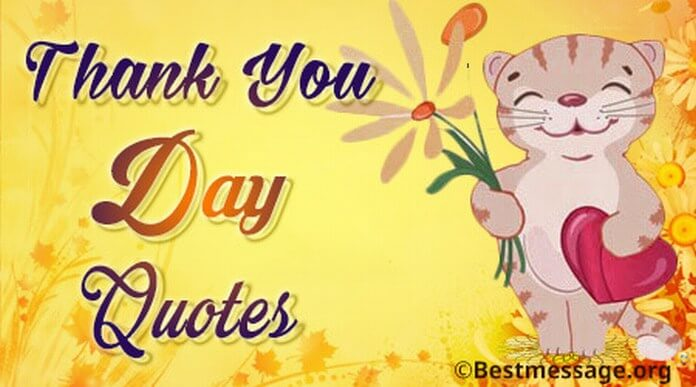 Thank You Day Quotes