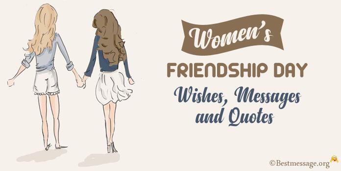 Women's Friendship Day message