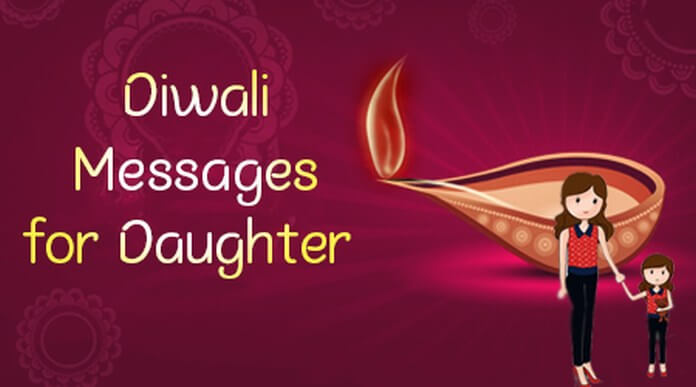 Diwali Messages for Daughter