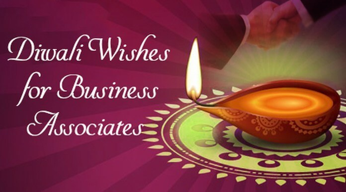 Diwali Wishes for Business Associates