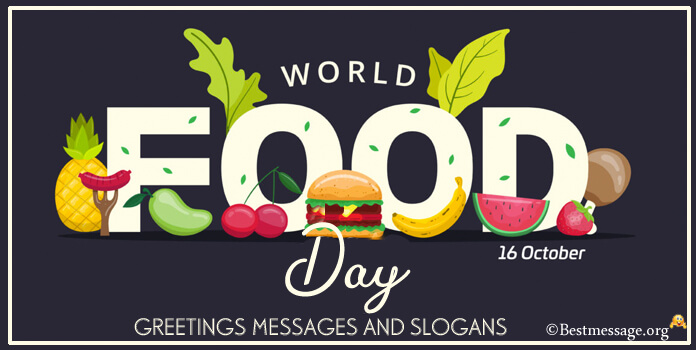 Messages World Food Day