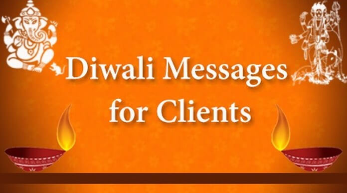 diwali messages for business clients