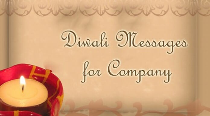 Diwali Messages for Company