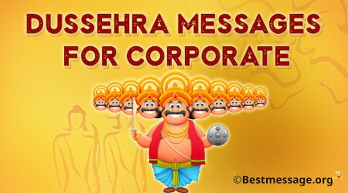 Dussehra Messages for Corporate