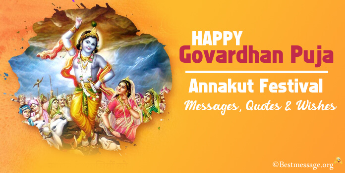 Goverdhan and Annakut Festival Messages