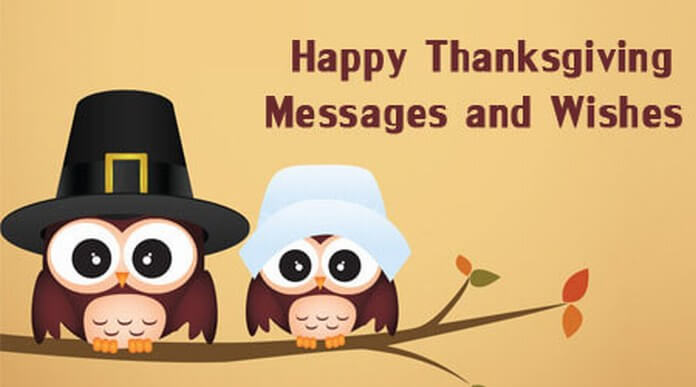 Short Thanksgiving Messages and Wishes