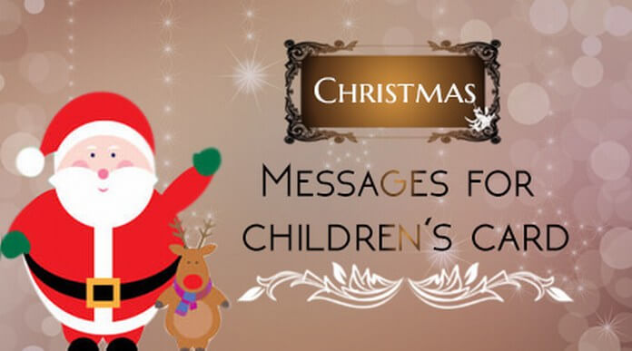 Christmas Messages for Childrens Card