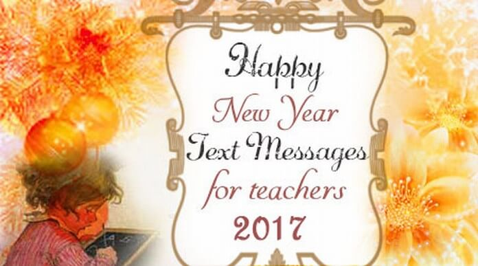 2016 New Year Messages for Teachers