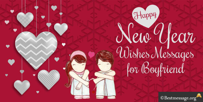 New Year Message to Boyfriend