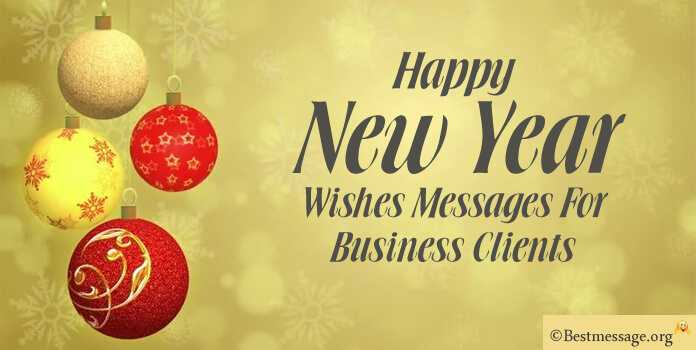 New Year Messages to Business Clients
