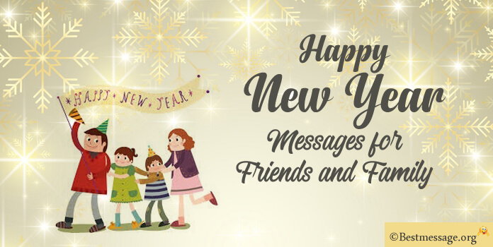 New Year Messages to Family and Friends