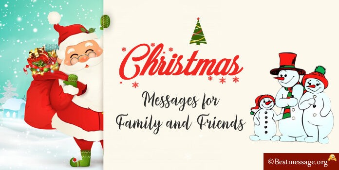 Christmas Messages for Family Friends