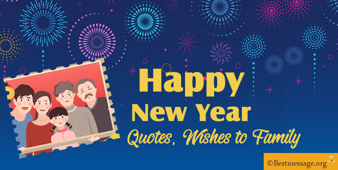 New Year Love Messages to Family