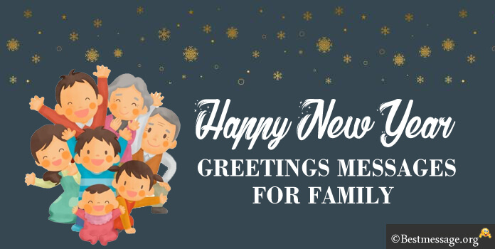 New Year Greetings Messages to Family