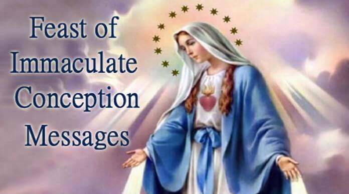 Feast of Immaculate Conception Messages