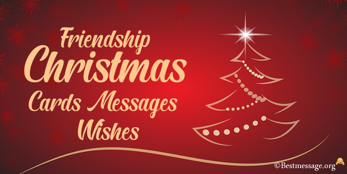 Christmas Messages for Friendship