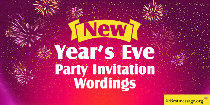 Funny new year eve invitation wording
