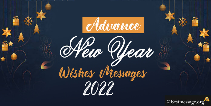 Happy New Year 2017 Advance Wishes Messages