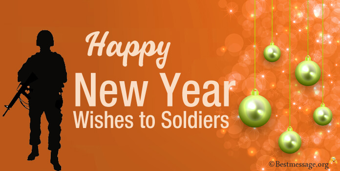 Happy new year message for soldiers 2017