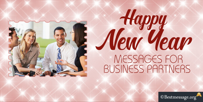 New Year Messages for Business Partners