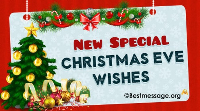 New Special Christmas Eve Wishes Messages
