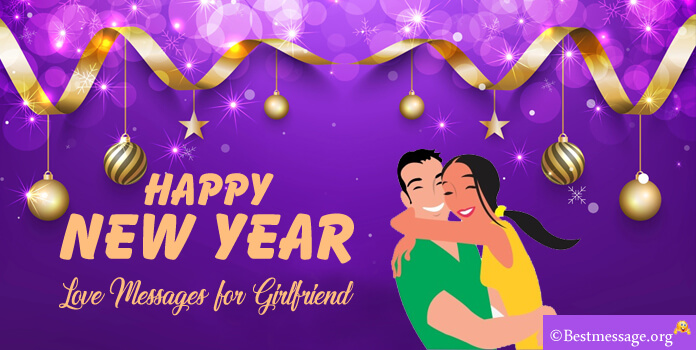 happy New Year Love Messages for Girlfriend