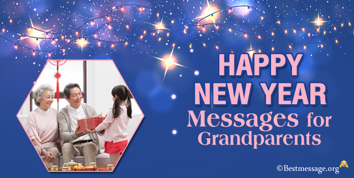new year Wishes messages for grandparents