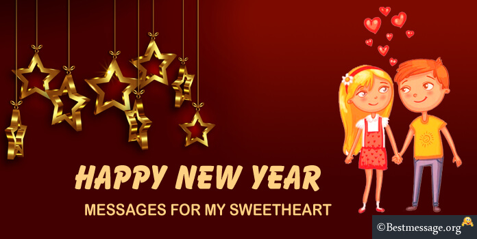 New year messages for my sweetheart